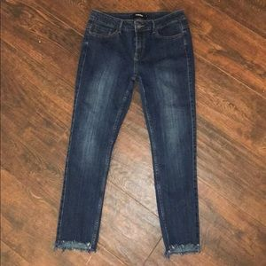 NWOT dark denim jeans